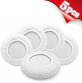 "AIVS Wool Buffing Polishing Pads Bonnets Waxer Pads Sanding On Car Buffer bonnets Polisher,5 pieces (5""-6"")"