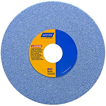 46 Grit Aluminum Oxide 1-1//4 Arbor Pack of 1 7 Diameter x 1//2 Width Norton 32A46-JVBE Type 01 Vitrified Straight Toolroom Grinding Wheel Purple Grade J