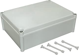 LeMotech Waterproof Dustproof IP67 Junction Box DIY Case Enclosure Gray 15