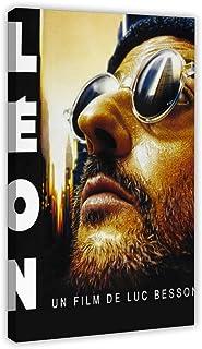 tgbhujk Leon Le Professionnel Classique Film Jean Reno Acteur Mur Art Peinture Imprimer sur La Soie Affiche De La Maison D/écoration 50X70Cm sans Cadre