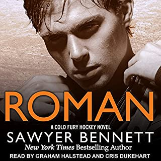 Roman     Cold Fury Hockey Series, Book 7              By:                                                                                                                                 Sawyer Bennett                               Narrated by:                                                                                                                                 Cris Dukehart,                                                                                        Graham Halstead                      Length: 7 hrs and 23 mins     7 ratings     Overall 4.7