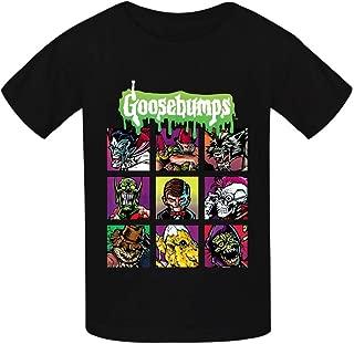 Goosebumps Monster Youth Cotton T-Shirts Unisex Child Short Sleeve Tee Shirt