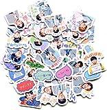 DSSK Emoji Stickers Selbstgemachte Hand Konto Dekoration Stern Aufkleber 40 Blatt