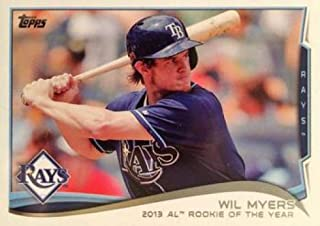 2014 Topps Series 2 Baseball #333 Wil Myers Tampa Bay Rays AL ROY Official MLB Trading Card