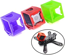 Hockus Accessories Ultralight 3D Printed TPU Material Cases 30Degree Fixed Mount Holder 3 for Gopro Session Wizard X220S Camera seat Bracket - (Color: Purple Color)
