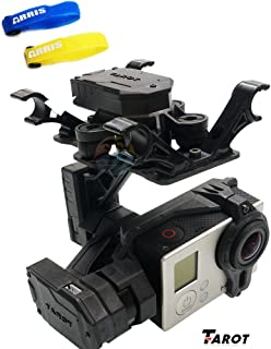 Tarot T4-3D 3-Axis FPV Brushless Camera Gimbal for Gopro Hero3 / GOpro3+ /Gopro4 TL3D01 (Free ARRIS Battery Straps)
