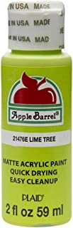 Apple Barrel Acrylic Paint in Assorted Colors (2 oz), 21476, Lime Tree