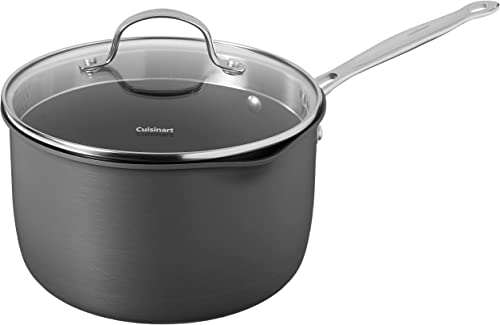 2021 Cuisinart online outlet sale Chef's Classic Saucepan with Cover outlet sale