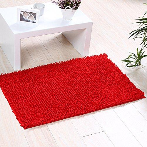 Tapis de bain et tapis de cuisine moelleux, paillassons de porte, tapis antidérapants. Tapis de bain et douche. Tapis (45 cm x 70 cm)
