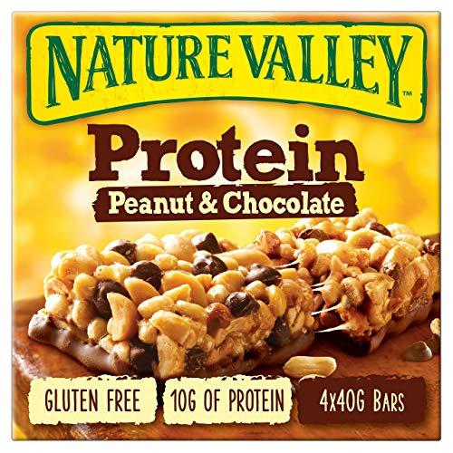 Nature Valley Protein Peanut & Chocolate Bar 4x40g