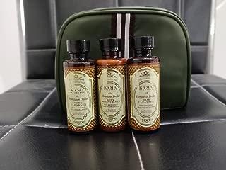 Kama Ayurveda Himalayan Deodar Travel Kit Body Cleanser, Body Moisturiser and Hair Cleanser