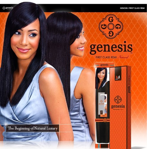 Genesis™ First Class Remi Hair Weave - NATURAL YAKY (18, 1)