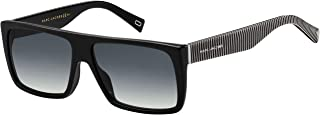 Marc Jacobs Marc096/s Rectangle Sunglasses for Women + FREE Complimentary Eyewear Kit