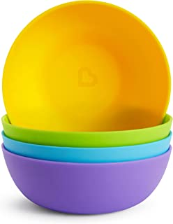 Munchkin Modern Bowls, Multi Color, Pack of 4