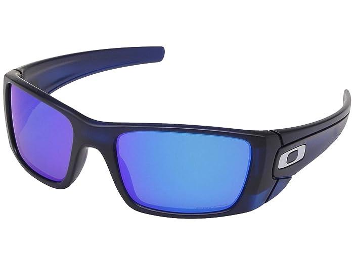 Oakley Fuel Cell (Matte Transparent Blue w/ PRIZM Sapphire) Polarized Sport Sunglasses