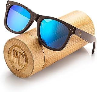 b6e095bbba Awerise Personalized Wooden Polarized Sunglasses Unisex Custom Wood  Sunglasses