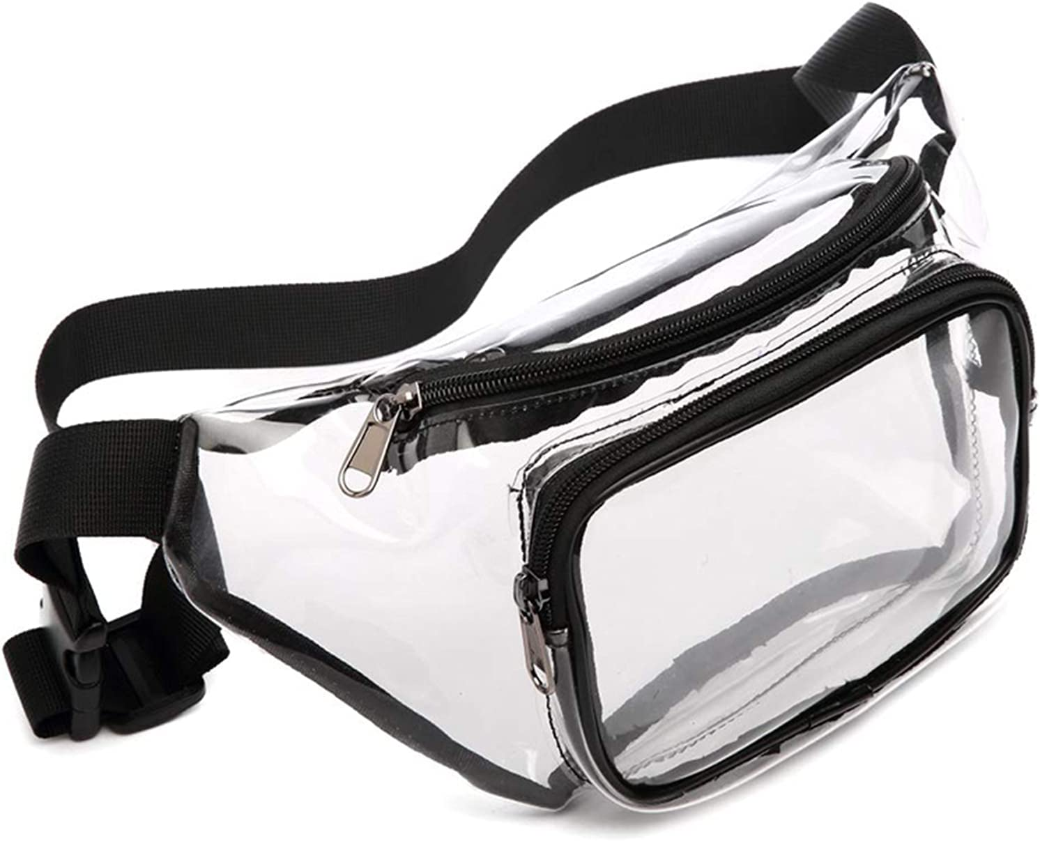 Clear Fanny Inexpensive Max 86% OFF Pack Fashion Couple Bag Adjustable Waist Transparent