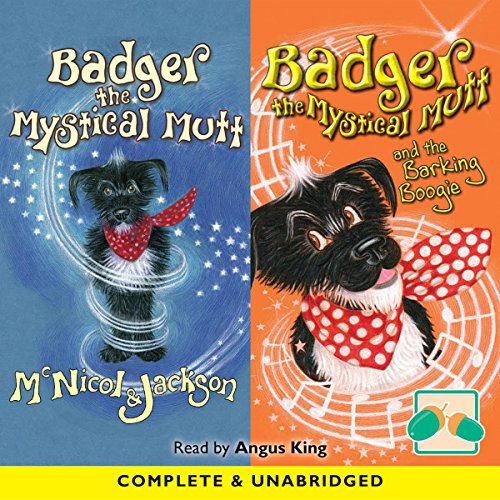 Badger the Mystical Mutt & Badger the Mystical Mutt and the Barking Boogie cover art