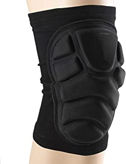 TTIO Knee Pads- Breathable Soft Lightweight Knee Padded for Skiing Skating Snowboarding Unisex