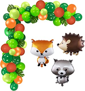 WOODLAND CRITTERS RANGE OF 5 LARGE ANIMALS FOIL BALLOONS FOREST WILDLIFE FARM