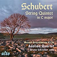 Schubert: String Quintet in C Major; Mozart: Divertimento in D by Bruno Schrecker