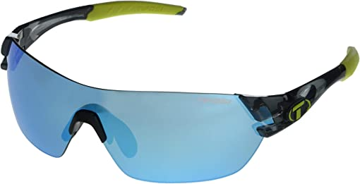 Crystal Smoke Frame Clarion Blue/AC Red/Clear Lenses