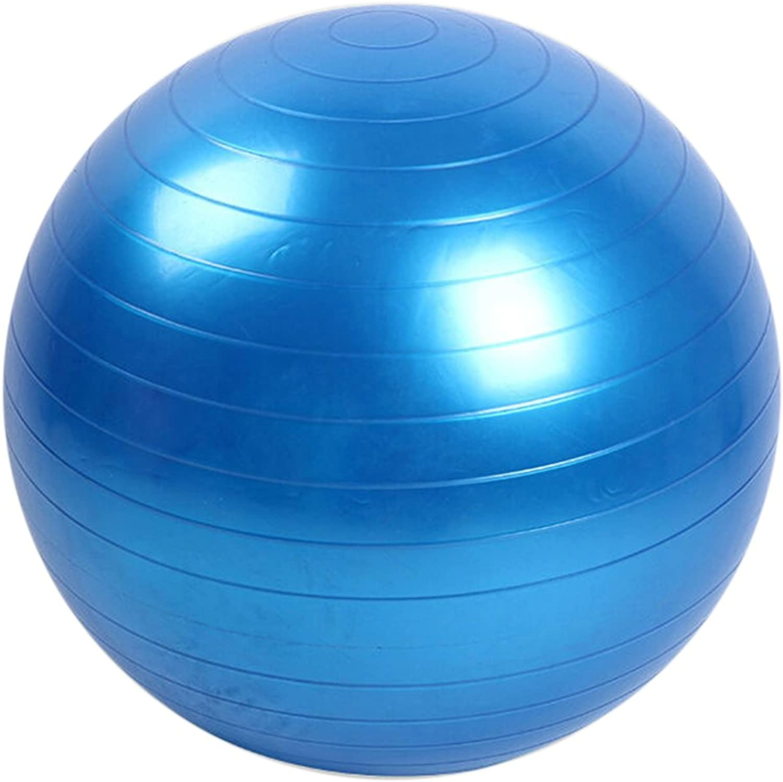 Deboc 45cm Fitness Exercise Training Balance Yoga Class GYM Ball Core Gymball PVC(bluee)