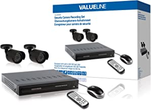 Valueline SVL-SETDVR30 Security Camera Recording Set Equipped with Built-in 500 GB Hard Disk