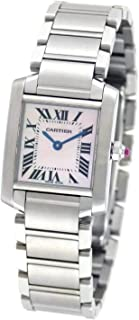 cartier tank francaise large steel