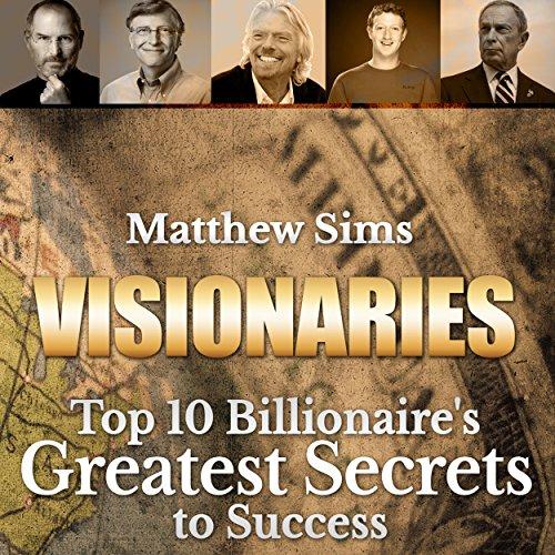 Visionaries audiobook cover art