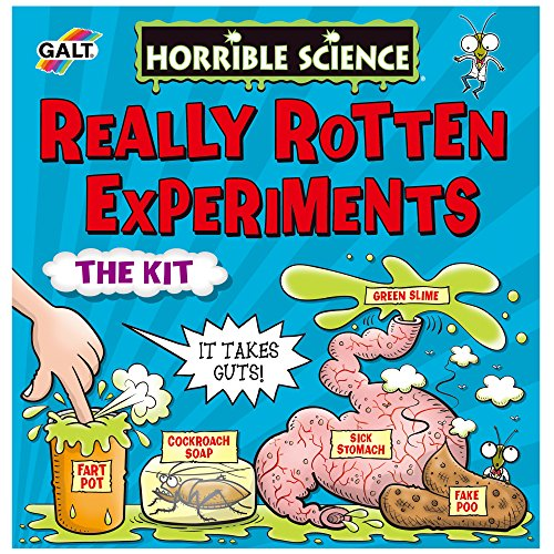 Galt Toys, Horrible Science - Really Rotten Experiments, Science Kit for Kids, Ages 8 Years Plus