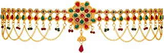 Jaipur Mart Non Precious Metal Golden Preyans Kamarband Belly-Chain Tagdi for Women (KMBND288MG)