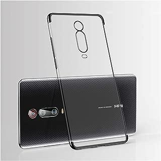 Xiaomi Mi 9T Proケース用レーザーメッキソフトクリアバックカバーXiaomi Xiomi Mi 9T Mi9T Pro電話ケース、Mi 9T用、ブラック