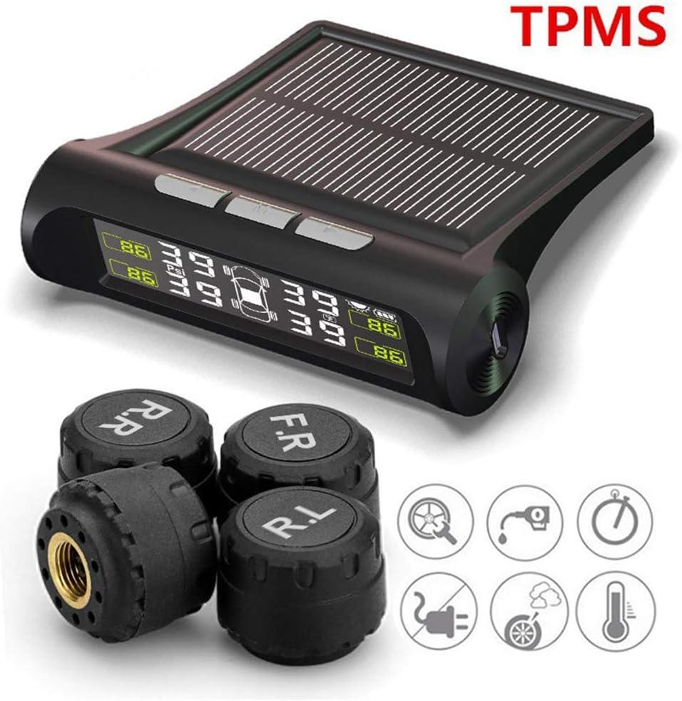 Mail order sportuli TPMS Solar Wireless Tire LCD Pressure Monitoring System Boston Mall