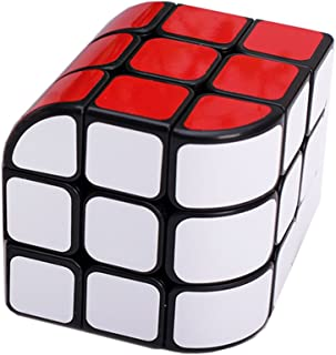 MZStech Nouvelle Conception structurelle de Cube incurvé Magic Cube 3x3x3 Puzzle Cube (Noir)