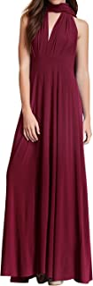 Womens Transformer Evening Dress Maxi Cocktail Wrap Convertible Multi Way Floor Long Formal Gown
