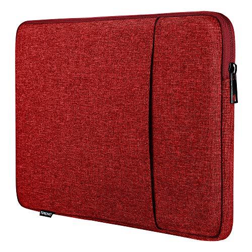 TiMOVO 9-11 Pollici Tablet Custodia Compatibile con 2020 iPad Air 4 10.9, iPad Pro 11 2018-2021, iPad 10.2, Galaxy Tab A7 10.4, S6 Lite 2020, Surface Go 2/1, Smart Keyboard, Rosso