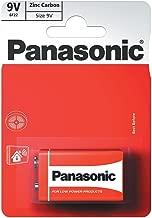 Panasonic 1148 Zinc 6F22R 9 V Special Power Battery