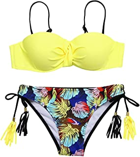 Boutique Swimsuit, 2019 Womens Padded Push-up Bra Bikini Set Swimsuit Bathing Suit Swimwear Beachwear