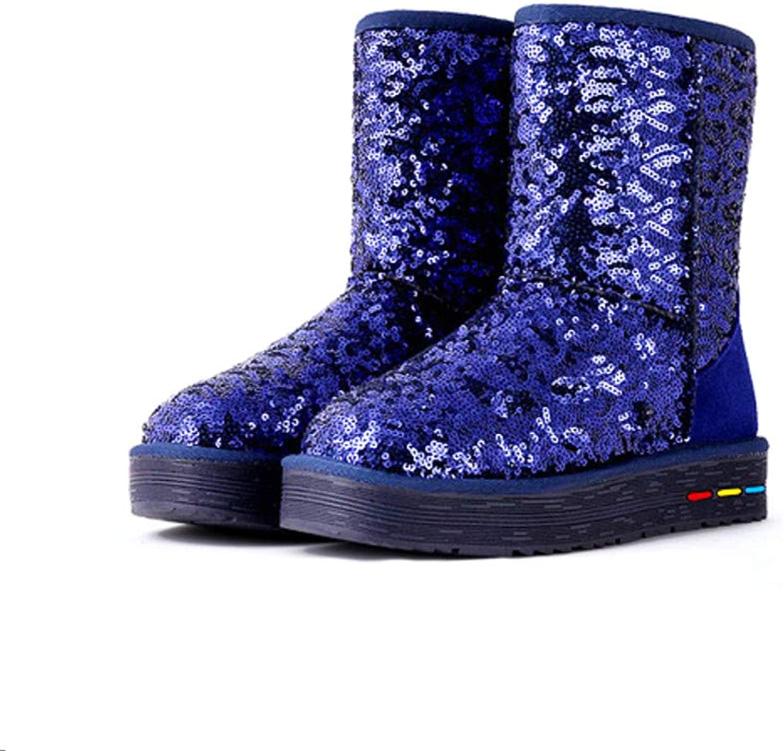 Women's Classic Short Boot Breathable Non-Slip Winter Half Snow Boot,A,38