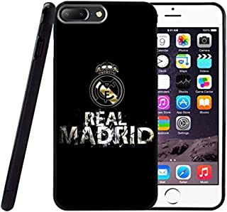 Saul&Dunn The Real Madrid iPhone 7 Plus & iPhone 8 Plus Case Graphic Drop-Proof Durable Slim Soft TPU Cover