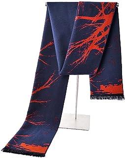 No.66 Town Men's Fashion Warm Soft Winter Brushed Silk Scarf