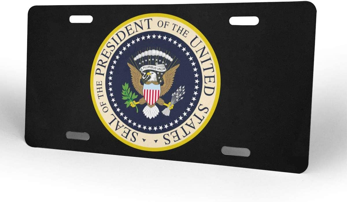 Nonebrand Seal President Of The United States Nummernschild Nummernschild Custom License Plate Car Tag Metallschild Küche Haushalt