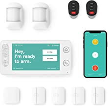Home Security System by Cove - 10 Piece System with 24/7 Professional Monitoring Trial, No Contracts, Easy DIY Installatio...