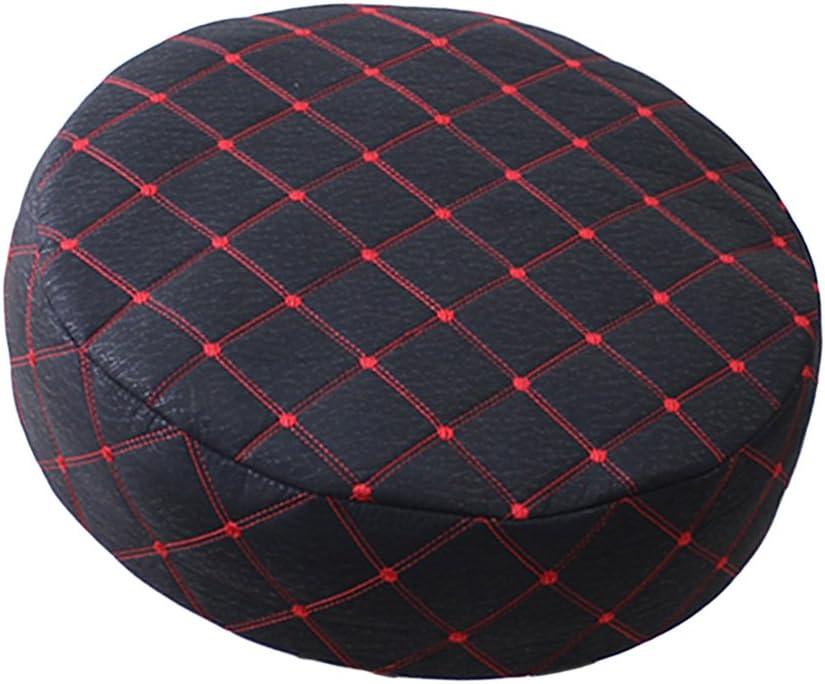 40 Cm De Diam/ètre 6 Couleurs Disponibles Rouge HomeDecTime 15-16 Pouces Coussin Protecteur De Housse De Housse De Chaise De Tabouret De Bar Rond