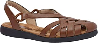 Cushionaire Women's Hudson Comfort Footbed Sandal with +Comfort
