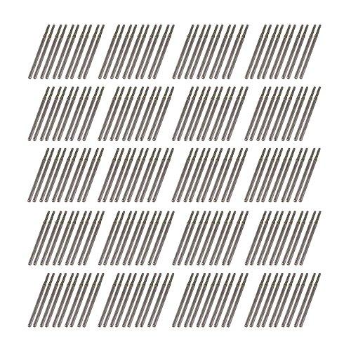 cnbtr 200x Dia 2mm Silber Glas Edelsteine Strass Bohrer für Rotations Werkzeug