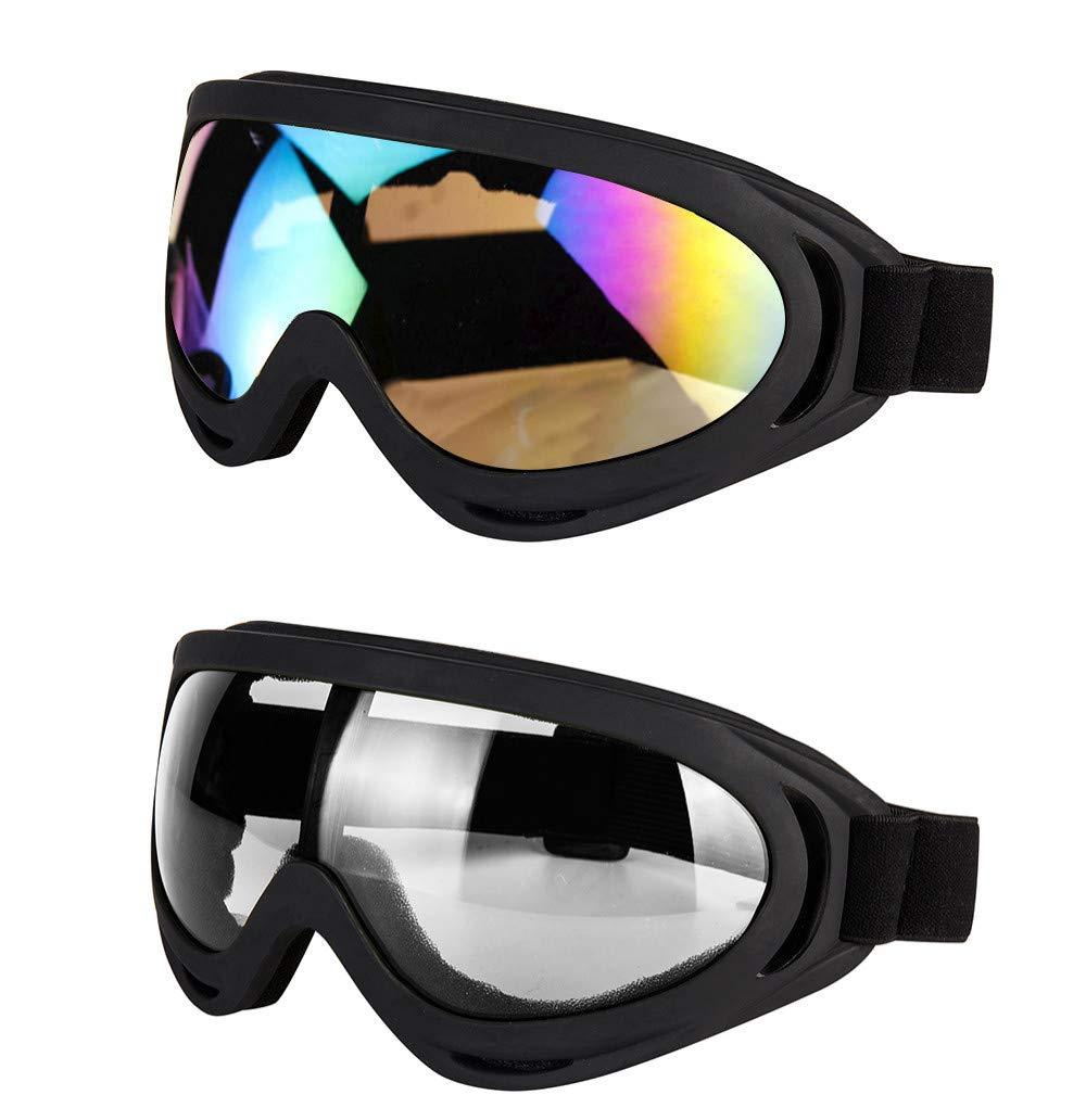 LJDJ Motorcycle Goggles Adjustable Protective