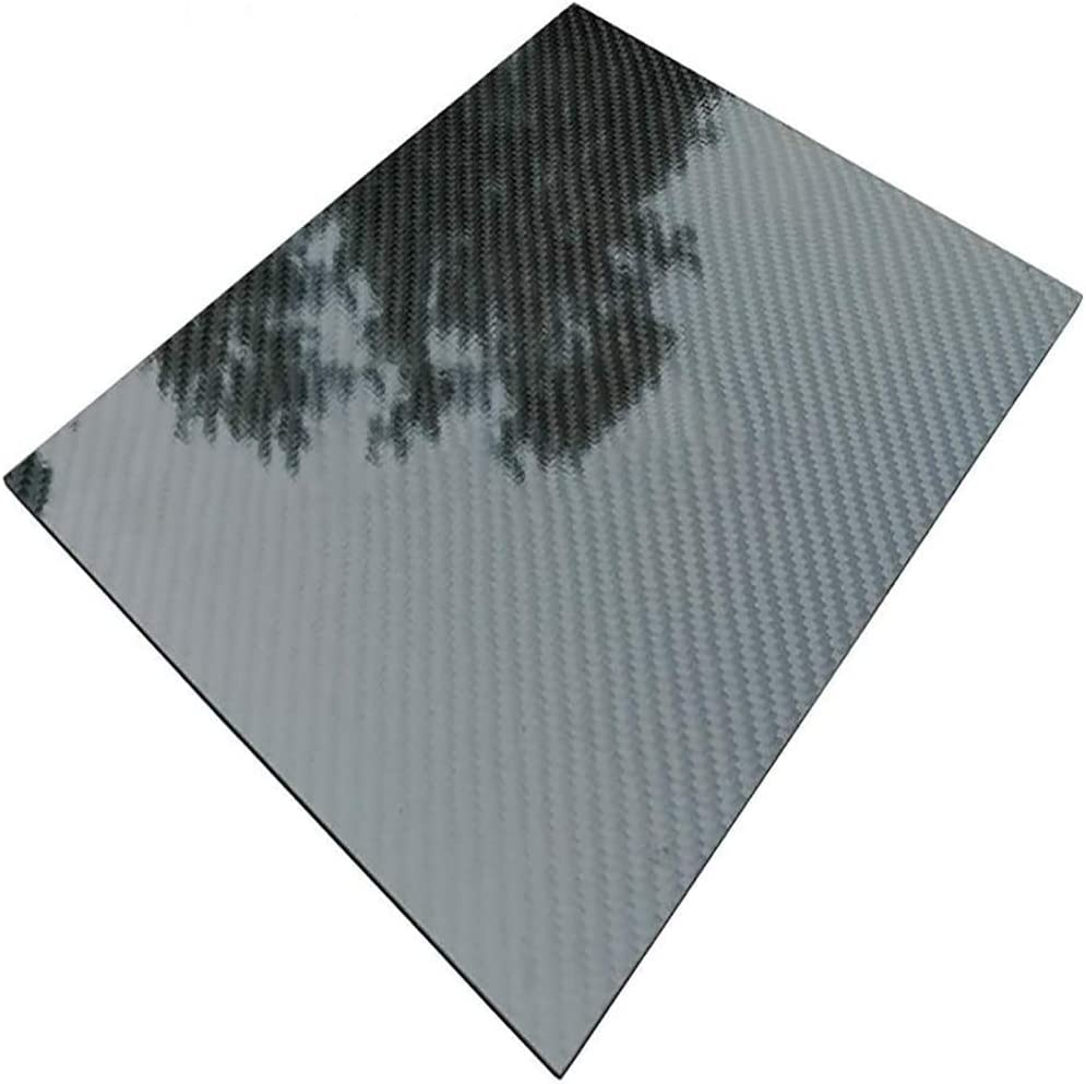 BAIWANLIN 3K Al sold out. Carbon Fiber Pure Laminate Weave Sheet Plate Panel Max 73% OFF