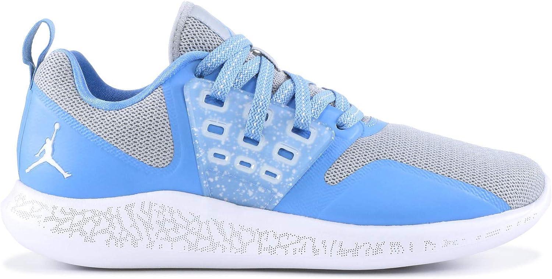 Jordan Grind Running shoes Mens (11 M US, Wolf Grey White-Valor bluee)